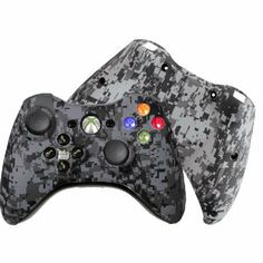 SAVE $20 - #Custom Xbox 360 Controller Special Edition Urban Camo Evil D-Pad Rechargeable Controller $99.99