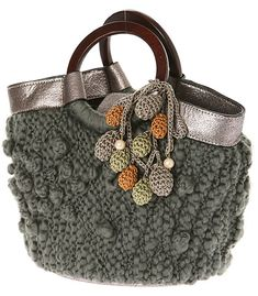 Crazy for Arts - Bags Bag Crochet, Crochet Handbags, Crochet Purses, Love Crochet, Handmade Handbags, Handmade Bags, Art Bag, Bead Embroidery Jewelry, Cute Purses