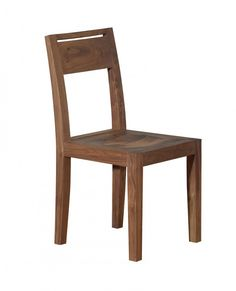 This Treviso Dining Chair evokes classical design with its solid American Walnut finish. Dining Room Bench, Chair Bench, Dining Chairs, American Walnut, Walnut Finish, Wooden Furniture, Benches, Design, Home Decor