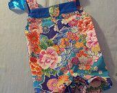 Summer salopette baby Milan, Two Piece Skirt Set, Jellyfish, Children, Skirts, How To Make, Etsy, Tops, Dresses
