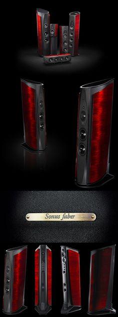 Sonus Faber Aida - latest flagship from the Italian master speaker makers