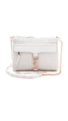 Rebecca Minkoff has done it again! White and rose gold and 50% off!