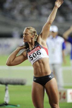 Jennifer Oeser female track and field shot put - 2020-04-25
