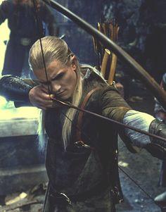 Orlando Bloom as Legolas Greenleaf in 'The Lord of the Rings' trilogy and 'The Hobbit' Aragorn, Gandalf, Legolas Hot, Lotr Legolas, Thranduil, Fellowship Of The Ring, Lord Of The Rings, Between Two Worlds, O Hobbit