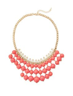 Bauble Bib Necklace from THELIMITED.com