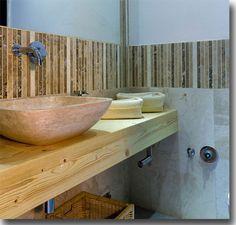 Bars and crib sink by #pietredirapolano  www.pietredirapolano.com