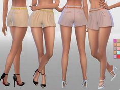 10 colors available  Found in TSR Category 'Sims 4 Female Everyday'
