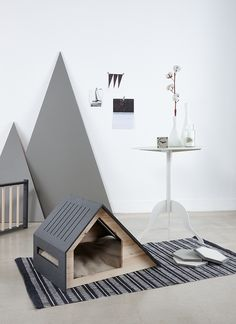 The deauville dog house by korean brand bad marlon cat house dog houses, co