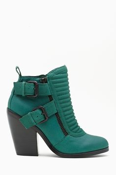Shoe Cult Outlaw Buckled Bootm Nasty Gal