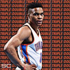 Russell Westbrook (36 Pts, 11 Ast, 11 Reb) finishes with his 3rd career 30-point triple-double in OKC's Game 4 victory. 5/24/2016