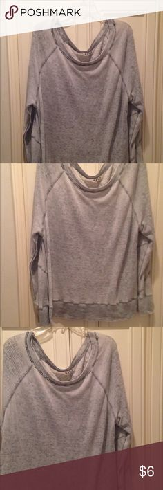 GO Couture Oversized Pull Over Cozy Sweater sz Lg Ships quickly from non smoking home go coture Sweaters