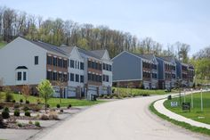 Townhome streetscape