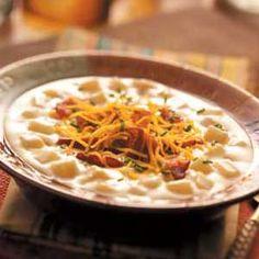 Easy Baked Potato Soup