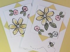 Stampin'Up! Garden in Bloom Card - YouTube