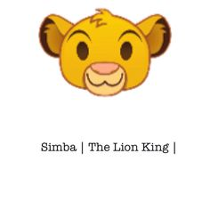 My 1st Disney Emoji: Simba