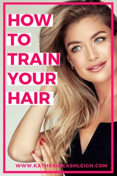 How to train your hair to wash less frequently. The best technique with dry shampoo tips and suggestions to increase the time between washes.