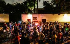 Ciclistas protagonizam o primeiro protesto contra o recém-eleito prefeito Doria