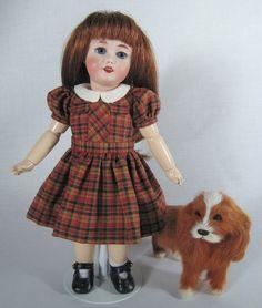 1956 Mascotte Dress Pattern for Bleuette