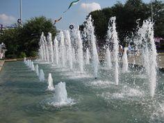 Fair Park Dallas fountain on main promenade www.fountainsdallas.com fair park dallas, texas www.fountainsdallas.com