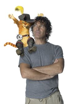 Antonio Banderas (without Puss in Boots.  Ranger isn't really a cat person.)