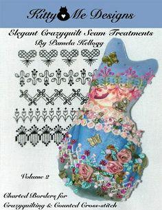 Elegant Crazy Quilt Seam Treatments Volume 2   Flickr – Compartilhamento de fotos!