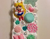 Sailor Moon Phone Case.  Look at the yummies.  Too cute!