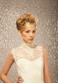 Tendencias de  peinados de novia para 2013 por Cebado