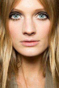 Lush Lashes at Jean Paul Gaultier - Best Spring 2013 Fashion Week Makeup Looks