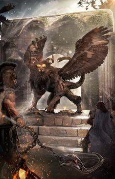 As detalhadas e realistas ilustrações de fantasia de Joseph C-Knight