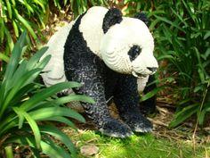 LEGO panda.