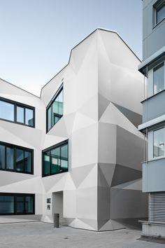 enzmann fischer ag / architekten bsa/sia / zürich - freework / markdrotsky.com Facade, Abstract, Artwork, Lucerne, Architecture, Summary, Work Of Art, Auguste Rodin Artwork, Facades