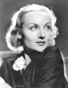 "wehadfacesthen: ""Carole Lombard in a 1933 photo by Eugene Robert Richee """
