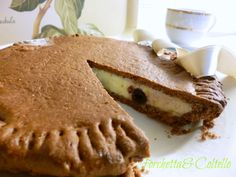torta del numero zero - torta buonissima con una pasta frolla alla nutella e crema al mascarpone, il tutto arricchito da ottime amarene sciroppate.