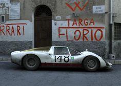 """Porsche Carrera  """" Targa Florio """""""