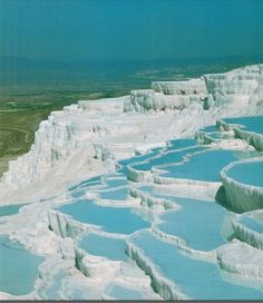 pammukale, turkey, the name 'cotton castles' couldn't be more perfect, just fairytale