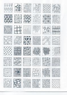 basic zentangle pattern - Google Search