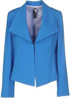 Pianurastudio Women Blazer on YOOX. The best online selection of Blazers Pianurastudio. YOOX exclusive items of Italian and international designers - Secure payments Work Jackets, Blazers, Suit Jacket, Suits, Coat, Design, Women, Fashion, Moda