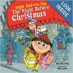 The Night Before the Night Before Christmas (Reading Railroad): Natasha Wing, Mike Lester: 9780448428727: Amazon.com: Books #Christmas books for kids
