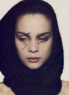 #Creative #makeup Mark Segal