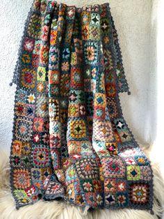 Wool Yarn, Needlepoint, Blanket, Crochet, Handmade, Hand Made, Ganchillo, Needlework, Blankets