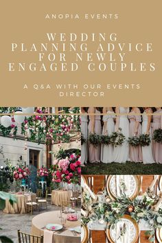 Wedding planning tips | Wedding planner Q&A | Wedding Planning Advice | Newly Engaged Couples Wedding Logo Design, Wedding Logos, Wedding Planning Inspiration, Wedding Planning Checklist, Wedding Advice, Plan Your Wedding, Wedding Stuff, Getting Married Abroad, Marriage Goals