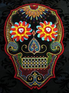 dia de los muertos skull  https://www.facebook.com/media/set/?set=oa.263806423637297=1