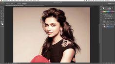 How to remove hair in photoshop tutorial- किसी इमेज बैकग्राउंड से बाल को...