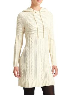 Coldspell Sweater Dress - Next time a cold spell hits, pull on your tights and throw on this 100% merino wool dress thats 100% washable for easy wearing.