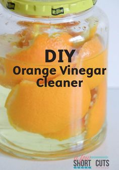 Make your own at-home Orange Vinegar Cleaner! Use this easy DIY solution combined with Bounty Paper Towels to tackle the dirt and grime in your home.