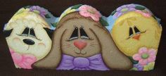 Spring Trio Decorative Painting Pattern by OilCreekOriginals, $7.95