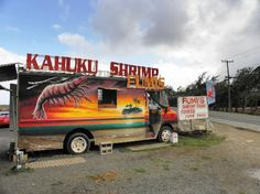 Shrimp trucks are a must. North shore has many... We liked them all!!