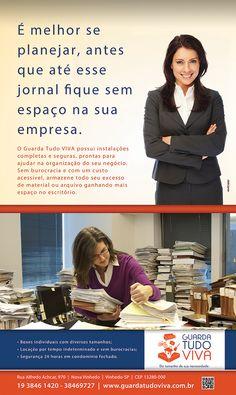 Anúncio Guarda Tudo Viva Jornal Folha de Notícias Vinhedo