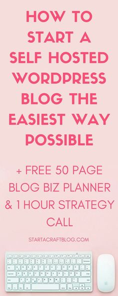 Have you been wanting to start a self-hosted blog for a long time but are afraid of losing traffic or content? Fear not, you will lose a little traffic but trust me when I say that it is absoltuely worth it. Click through and find out how to get everything migrated for free, get a 50 page blog business planner and a one hour strategy session with a pro blogger.