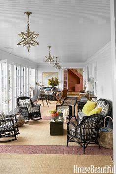 Designer Kari McCabe. Thomas Loof photo in House Beautiful.